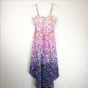Guess | Summer colorful asymmetrical dress